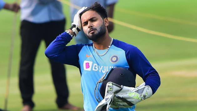 India's wicketkeeper Rishabh Pant.(PTI)