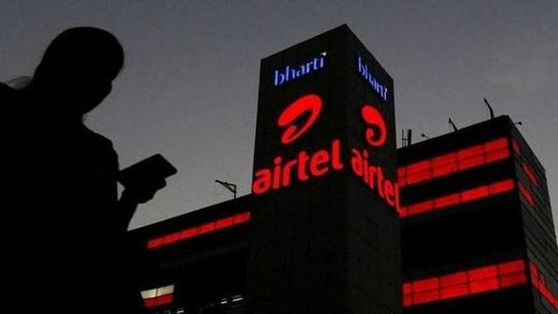 Bharti Airtel on Monday said it has paid Rs 10,000 crore to the telecom department towards statutory dues.(Reuters image)