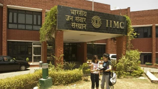 Indian Institute of Mass Communication.(HT file)