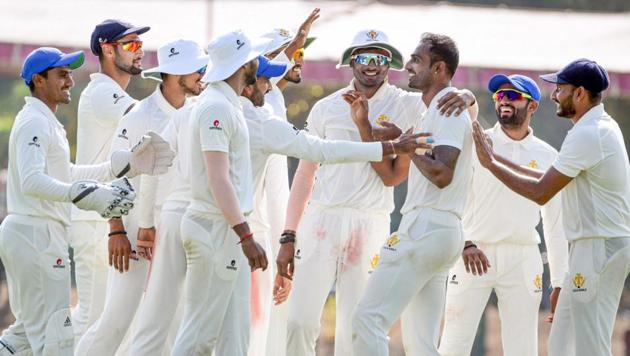 Karnataka are three matches from completing a clean sweep in Indian cricket(PTI)