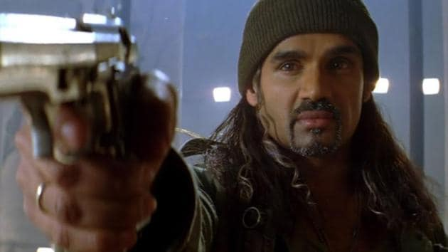 Suniel Shetty played the antagonist in Main Hoon Na.