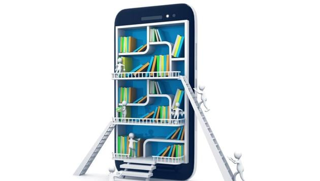 E-learning education or internet library concept(Getty Images/iStockphoto)