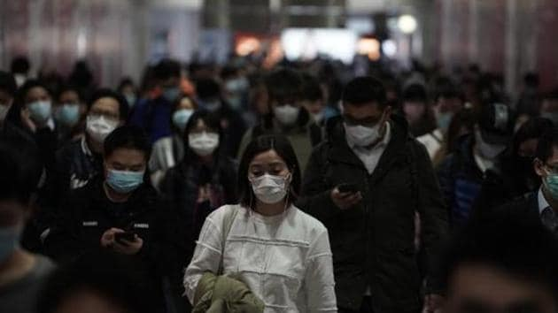 A study – the largest so far on the outbreak -- conducted by the Chinese Centre for Disease Control and Prevention (CDC) also say over 6000 might have been infected by January 20 in China besides across the worst-hit Hubei province and its capital city, Wuhan.(AP FILE)