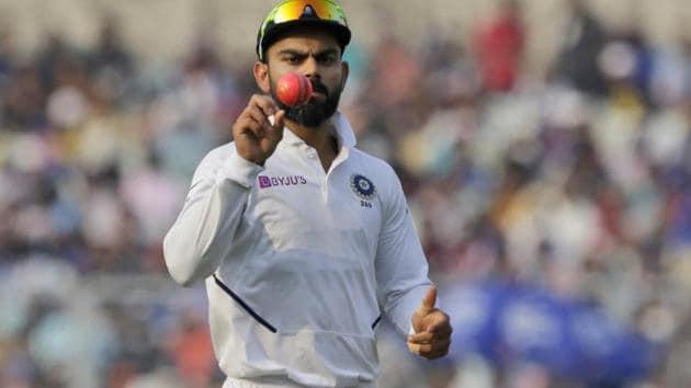 A file photo of Indian cricket team skipper Virat Kohli.(AP)