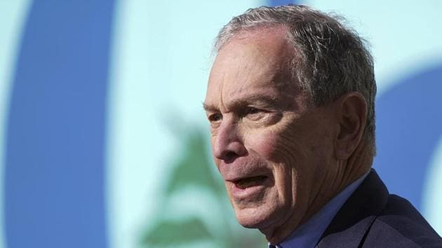 Michael Bloomberg is worth more than USD 64 billion, according to Forbes, towering over Trump's USD 3.1 billion net worth. The former New York City mayor has also come under fire for pouring millions of his own money into his campaign.(AP/PTI)