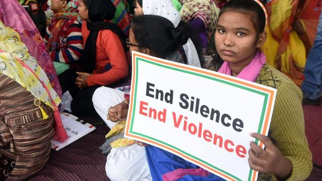 A 25-year-old woman was killed by a stalker who slit her throat and stabbed her repeatedly in Gajwel town of Telangana.(Parwaz Khan /HT PHOTO)