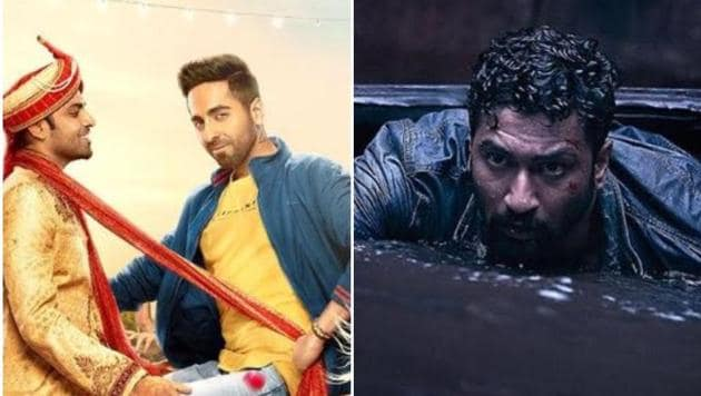 Ayushmann Khurrana's Shubh Mangal Zyada Saacdhan and Vicky Kaushal's Bhoot Part One The Haunted Ship hit the screens this Friday.