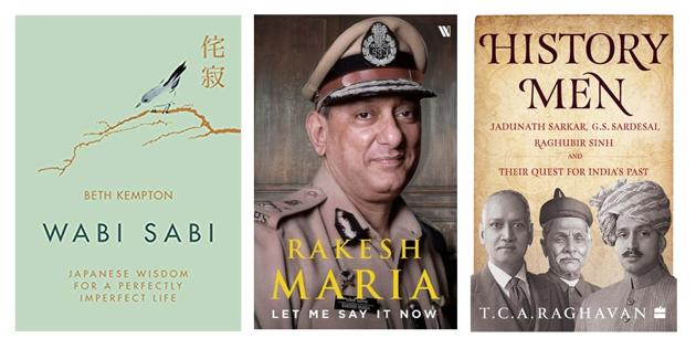 This week's picks include a book on the Japanese art of finding beauty in imperfection, one on pioneering Indian historians, and the sensational memoir of Mumbai's former top cop.(HT Team)