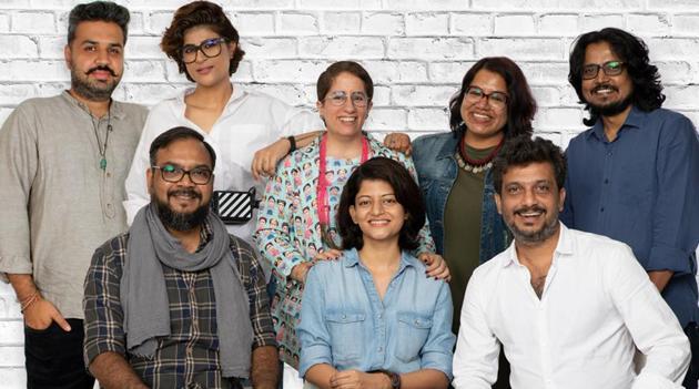 Guneet Monga (centre) with directors of Zindagi inShort.