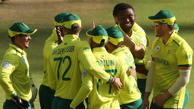 South Africa vs Australia, 1st T20I in Johannesburg: Highlights(REUTERS)