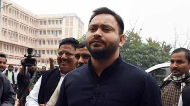 Tejashwi Yadav will be the chief ministerial face in the Bihar assembly polls to be held later this year, according to the RJD.(HT PHOTO.)