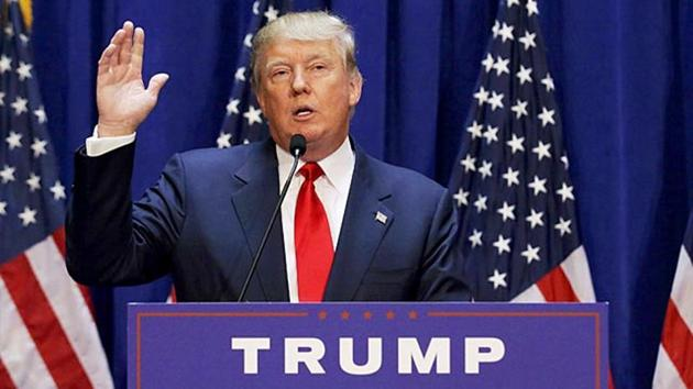 US President Donald Trump will take time to meet with Indian companies investing in manufacturing in the US(Reuters)