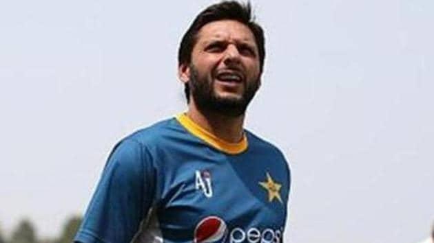A file photo of Shahid Afridi.(IDI via Getty Images)