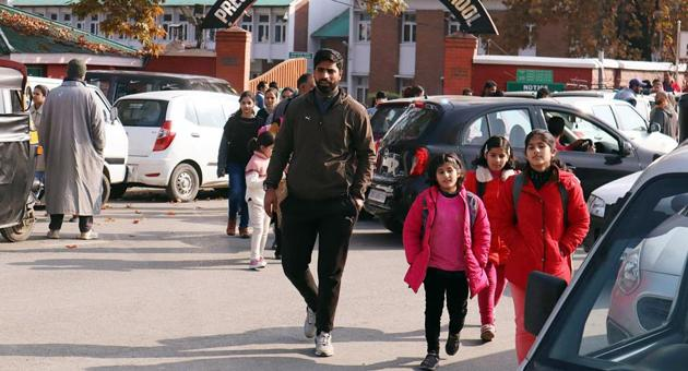 Students in Kashmir have mostly have remained away from classes for over six months since the abrogation of Jammu and Kashmir's special status on August 5 last year.(ANI File Photo)