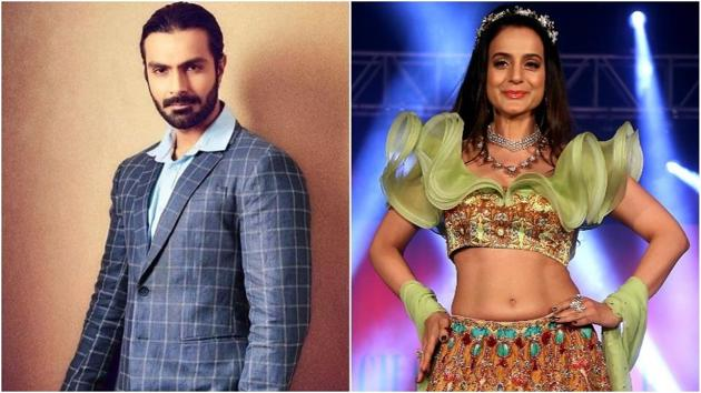 Ashmit Patel doesn't care about rumours of tiff with Ameesha anymore.
