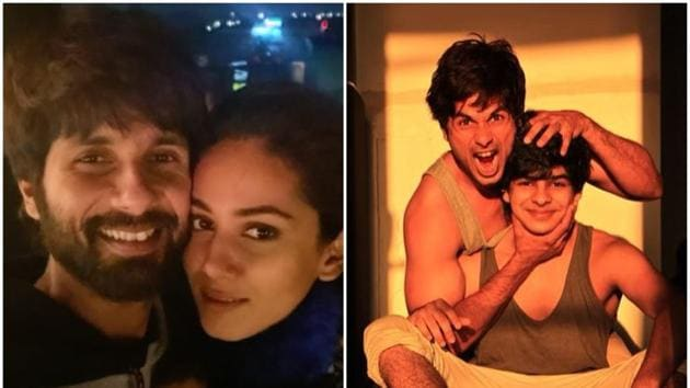 Shahid Kapoor got birthday wishes from wife Mira Rajput and brother Ishaan Khatter.