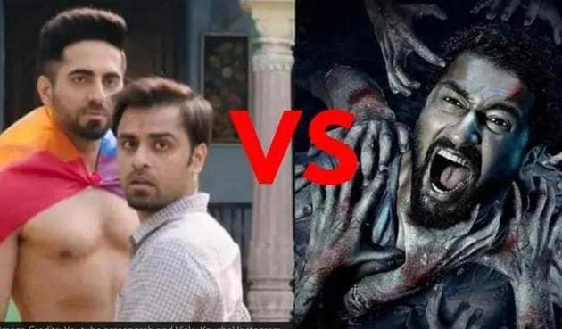 Shubh Mangal Zyada Saavdhan Vs Bhoot Part One The Haunted Ship box office day 5: Ayushmann Khurrana film has seen a major drop on Monday.