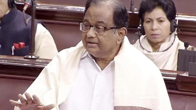 Senior Congress leader and former finance minister P Chidambaram said the violence in Delhi on Monday and the loss of lives are most shocking and deserve the strongest condemnation.(ANI)