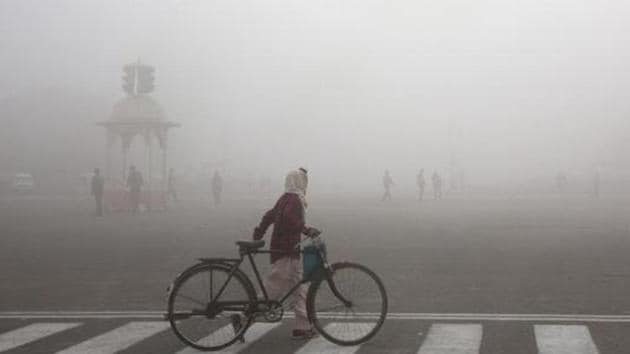 The National Capital New Delhi is the most polluted city among 84 cities assessed globally for PM 2.5 levels by IQAir.(AP (Image for representation purpose))
