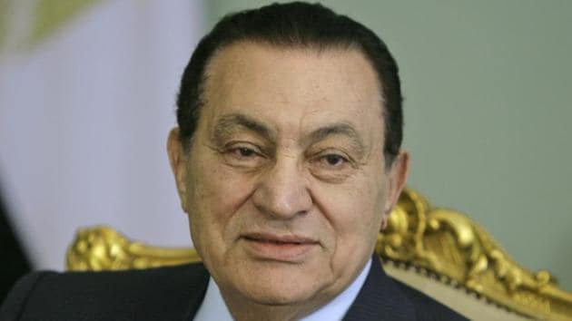 "Dubbed the ""pharaoh"" by his detractors, Mubarak had ruled for 30 years and was widely accepted to be preparing his younger son Gamal as successor when the Arab Spring surged into Cairo in January 2011.(AP)"