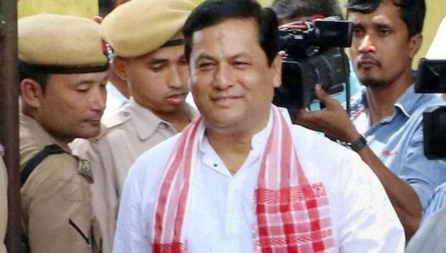 Assam Chief Minister Sarbananda Sonowal.(PTI)