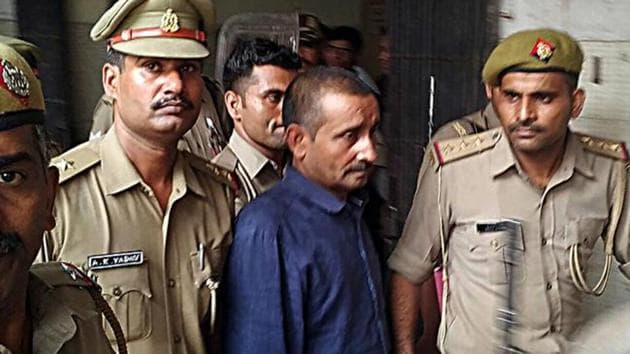 Uttar Pradesh legislator Kuldeep Singh Sengar was been convicted in a rape case and given life sentence by a Delhi court in December 2019.(ANI File)