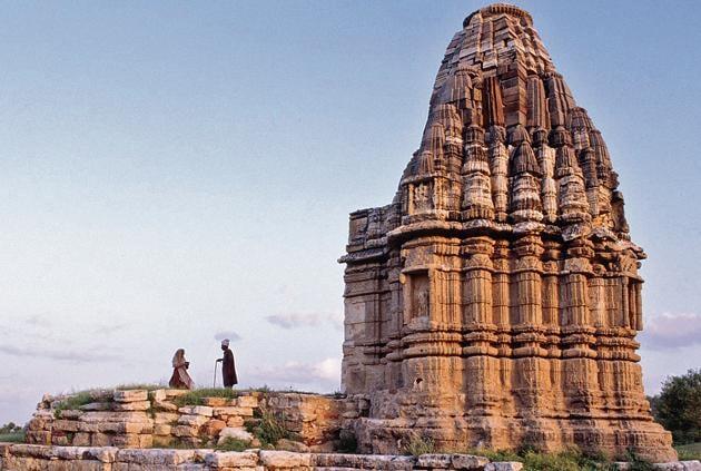A Jain temple in Nagarparkar, Pakistan.(Getty Images)