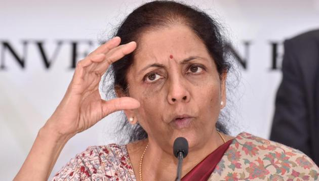 Finance Minister Nirmala Sitharaman(ANI photo)