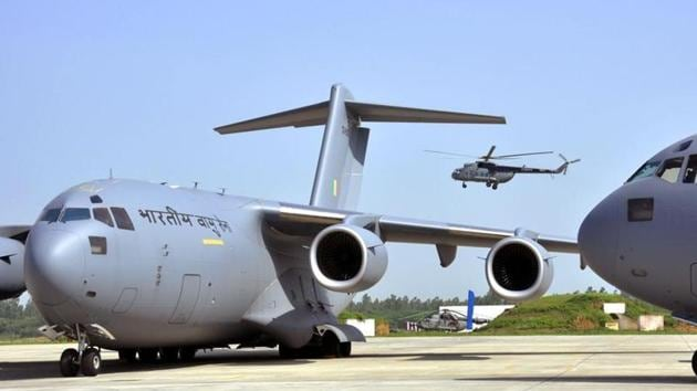 After a delay of almost a week, an Indian military aircraft departed for China on Wednesday to deliver 15 tonnes of medical assistance and to evacuate some 100 Indians from Wuhan(Hindustan Times)