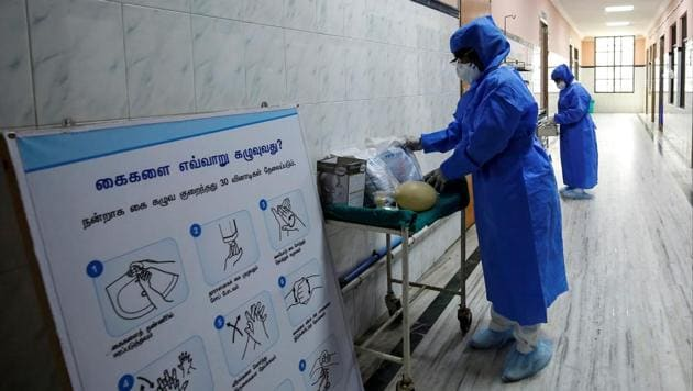The novel coronavirus outbreak, which was first reported from Wuhan in China, has now spread to various countries with over 2,600 deaths reported from China alone while nearly a million have been infected. Feb. 26, 2020.(REUTERS)