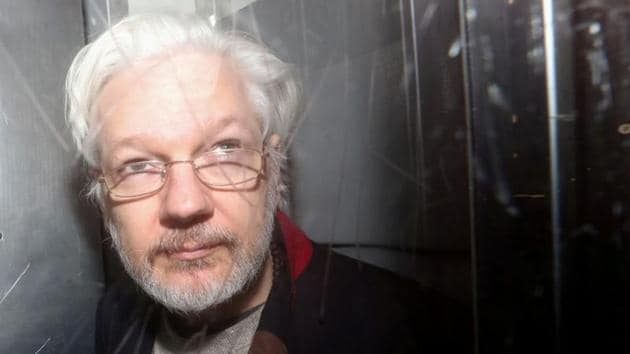 WikiLeaks founder Julina Assange is wanted in the US on espionage charges over the leaking of classified government documents a decade ago.(Reuters File Photo)
