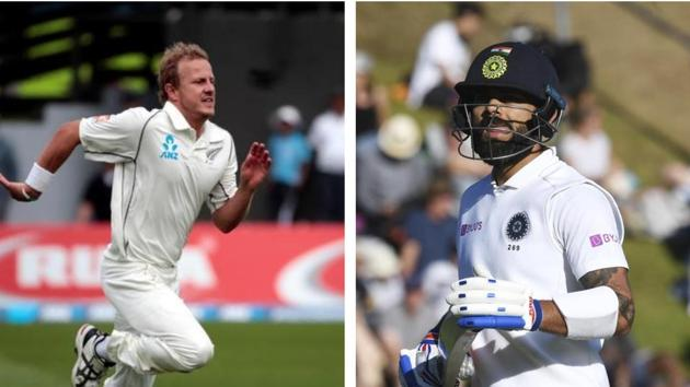 Neil Wagner will be playing 2nd Test against India.(AP/Reuters/HT Collage)