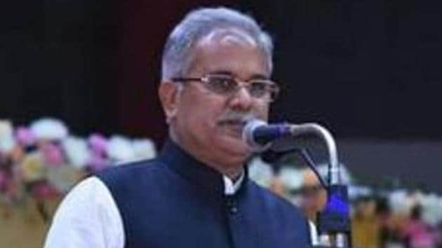 Chhattisgarh chief minister Bhupesh Baghel seven policement accused of dereliction of duty in a gang rape case involving a minor.(HT Photo/File)