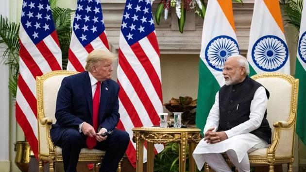 During Trump's visit, India and the US finalised defence deals worth USD 3 billion under which 30 military helicopters will be procured from two American defence majors for the Indian armed forces.(REUTERS)