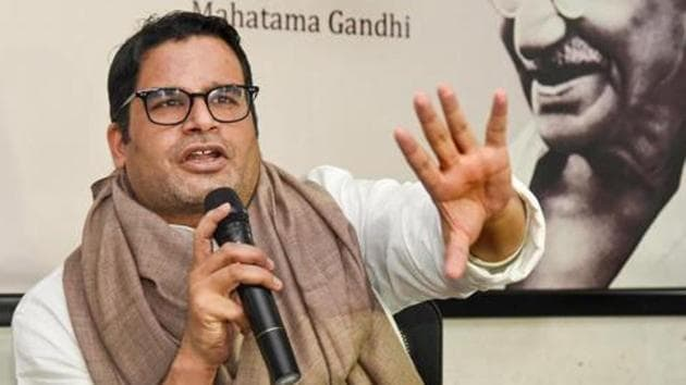 Political strategist Prashant Kishor has called the entire episode a third-rate mischief and an outlandish claim.(PTI PHOTO.)