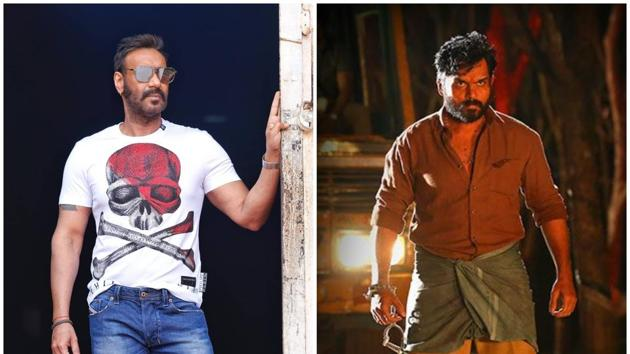 Ajay Devgn will be seen stepping into Karthi's shoes in the remake of Tamil blockbuster Kaithi.