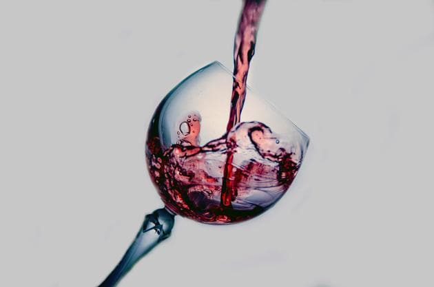 Serving wine in larger wine glasses while keeping the same measure led to a significant increase in the amount of wine sold.(Unsplash)