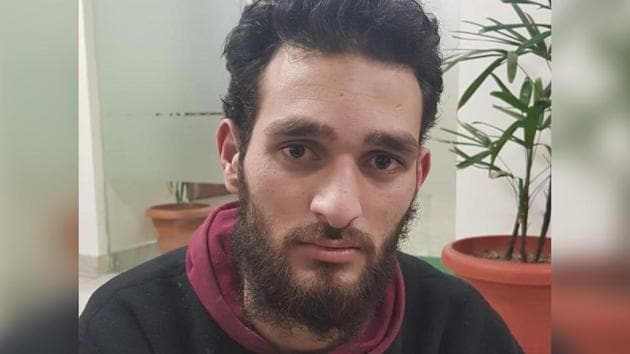 The accused, Shakir Bashir Magrey is a resident of Hajibal, Kakapora, in Pulwama.(SOURCED IMAGE.)