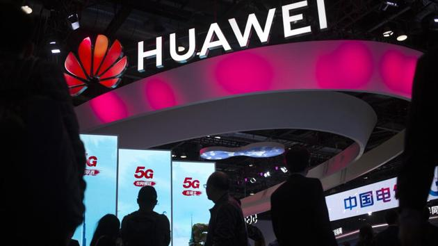 Despite the Trump-Narendra Modi bonhomie, even the Indian government has recently allowed Chinese companies including Huawei to participate in our 5G trials.(AP)