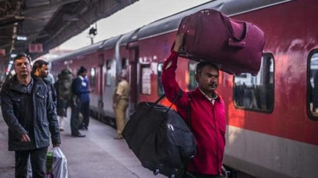 """Following the search, the ministry of railways said it would take strict action """"as per rules"""" against the false alarm.(MINT PHOTO.)"""