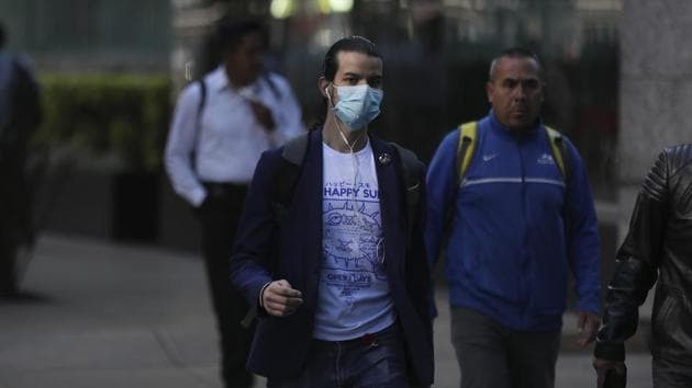 The patient and five members of his family have been isolated in the National Institute of Respiratory Diseases,said Hugo Lopez-Gatell, a senior health ministry official.(AP)