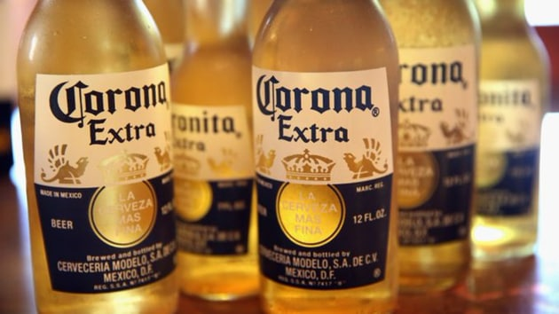 Confusion between coronavirus and Corona beer has been a punchline of questionable taste during the outbreak, but for the brand, the matter may be no joke.(Twitter image)
