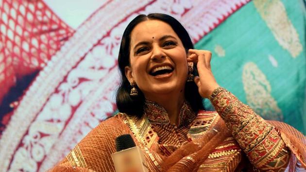 Kangana Ranaut during the promotion of her film Panga, in Patna.