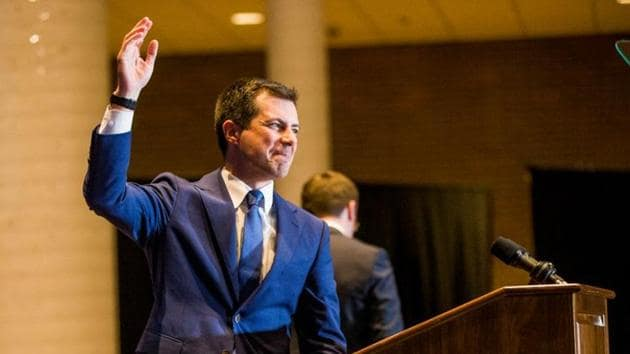 Pete Buttigieg's withdrawal is being seen as part of a larger attempt to consolidate the Democratic party's moderates to stop Senator Bernie Sanders(REUTERS)