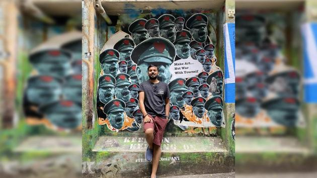 Sumit Saurabh, Founder & Creative Head of The Desizn Circle, began with just 6 students to teach at his coaching centre in Hauz Khas Village, New Delhi.