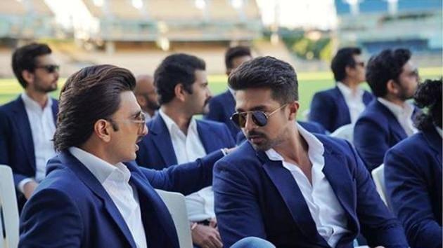 Ranveer Singh and Saqib Saleem will be seen together in 83.