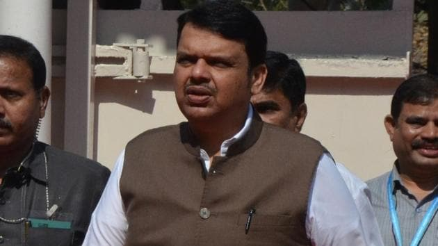 Former Maharashtra CM Devendra Fadnavis.(Anshuman Poyrekar/HT Photo)