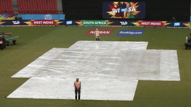 Rain washed out South Africa's group stage clash against West Indies.(AP)