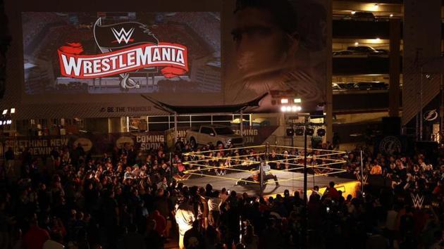 WWE WrestleMania will take place in Tampa Bay.(WWE)