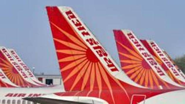 The government on January 27 invited expression of interest (EoI) from prospective buyers of Air India and two of its subsidiaries.(PTI (Image for representation purpose))